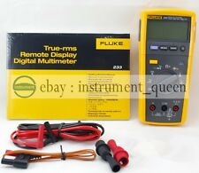 NEW Fluke 233 True RMS Remote Display Digital Multimeter Detachable Tester