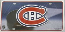 MONTREAL CANADIANS METAL LICENSE PLATE NHL HOCKEY SIGN NEW L822