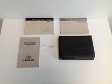 1991 Lexus ES 250 Series Owner's Manual
