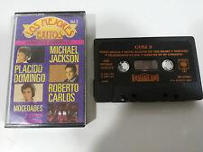 LOS MEJORES EXITOS VOL 2 MICHAEL JACKSON CINTA TAPE CASSETTE SPAIN ED 1984 CBS