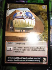 STAR WARS CCG JEDI KNIGHTS CARD MINT/N-MINT 1ST DAY 117C COM URRIKKIAN 9000