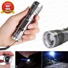 New 2016 CREE Q5 3 LED Modes 360LM Ultra Bright Adjustable Zoom Flashlight Torch