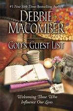 God's Guest List: Welcoming Those Who Influence Our Lives by Debbie Macomber