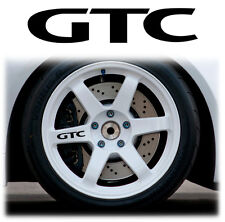 OPEL / VAUXHALL GTC ALLOY WHEEL WHEELS STICKERS DECALS GRAPHICS X6