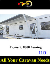 Dometic 8300 Awning 11ft, Semi-Automatic roll-up,with short hardware