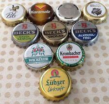 10x verschiedene Kronkorken aus Deutschland - Crown/Bottle caps - No.20