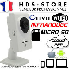 NCM629W Camera Surveillance Reseau IP HD Wifi Infrarouge Enregistreur Carte SD