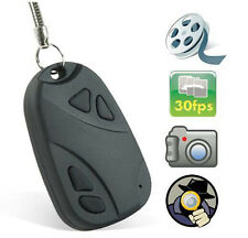 Spy Keychain Hidden Mini Camera DVR Key Fob Ring Chain Cam 8GB 16gb