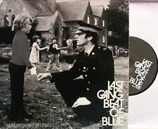 """LAST GANG 7"""" Beat Of Blue (Back of A Police Van) 500 MADE ! Indie classic"""