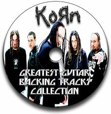 55 x KORN HEAVY NU METAL ROCK STIL GITARRE MP3 PLAYBACK TITEL CD