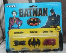 DC DIRECT moulé en plastique/batman joker van figure Ertl 1989 batmobile
