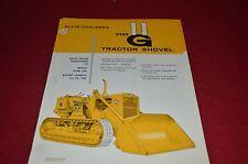Allis Chalmers HD11G Tractor Shovel Loader Dealer's Brochure DCPA2