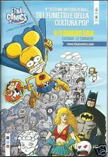 ETNA COMICS 2014 PROGRAMMA Copertina inedita di RATMAN di LEO ORTOLANI