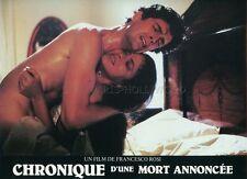 ORNELLA MUTI RUPERT EVERETT CHRONIQUE D'UNE MORT ANNONCEE  1987 LOBBY CARD #5