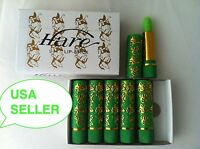 BOX OF 6 HARE MOROCCAN MAGIC LIPSTICK HENNA LIPS COLOR CHANGING Green to PINK