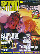 PSYCHO 34 2000 Slipknot Sentenced Death SS Dope Running Wild Kamelot Loudmouth