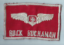 Vietnamese Made USAF Navigator Name Plate BUCHANAN