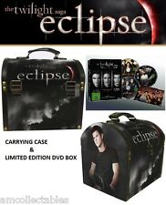 CAJA DE DVD - LA TWILIGHT SAGA 1-3 LIM. EDICIÓN & NECA CARRYING FUNDA JACOB