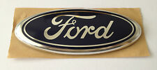 FORD BLUE NAME BADGE EMBLEM MONDEO MK2 MK3 GALAXY FIESTA MK6 COURIER FRONT REAR