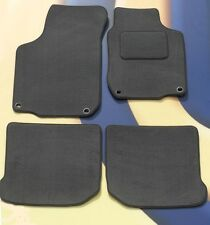 VW GOLF MK5 2004 - 2009 GREY QUALITY CARPET CAR MATS WITH 4 OVAL CLIPS