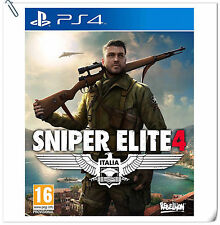 PS4 Sniper Elite 4 SONY PLAYSTATION Games Action Rebellion