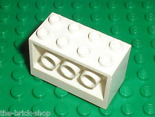 LEGO White Brick ref 6061 / Set 6454 Countdown Corner