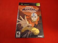 Avatar the Last Airbender Xbox Instruction Manual Booklet ONLY