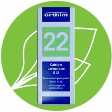 Schüßler Salz Nr.22 Calcium carbonicum D12 Globuli PZN 09490744