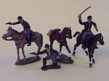 Toy Soldiers-American Civil War-ACW-Federal Cavalry-Union Horsemen-Yankees
