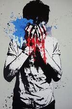Nafir Tear Gas Print Banksy eelus Cleon Peterson Kaws Gemeos Brainwash Faile