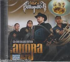 Voz De Mando CD NEW + DVD Version DELUXE Y Ahora Resulta ALBUM Nuevo SEALED