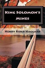 King Solomon's Mines by Haggard, Henry Rider, Good Book