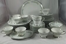 44 Pc Lennold RHAPSODY Fine China Japan Porcelain Dinnerware Service for 8