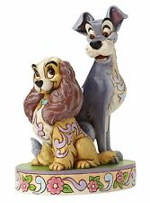 Disney Traditions Lady and The Tramp Opposite Attract 60th Ann Figurine 4046040