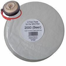 Filter Pads 2000 Beer 2x Pack for the MK4 Wine Filter Homebrew