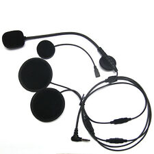 Removable 3.5mm Hi-Fi Speaker with Mic for Motorcycle Half & Full Face Helmet