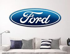 Ford Wall Decal Sports Cars Style Sticker Decor Vinyl  Many Size USA