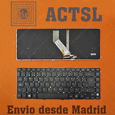 Teclado Español para Acer Aspire V5-471G Backlit Retroiluminado