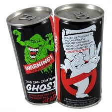 COCA COLA GHOSTBUSTERS II sealed can 1989 - GHOST IN A CAN - COLLECTABLE -AS NEW