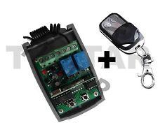 433Mhz Rolling Code Garagentor Antrieb Funk Empfänger + Handsender Fernbedienung