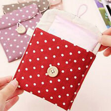 Nice  Sanitary Towel Napkin Pad Purse Holder Case Easy Bag Lady Girl Organizer