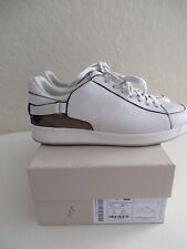 Burberry Cecilia Women  White Sneakers Size EUR 38 12 MSRP $ 395