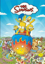 THE SIMPSONS FAMILY 3D POSTER CHARACTERS LARGE SIZE 48cm x 67cm HOMER BART LISA