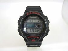 CASIO G-SHOCK DW-6100 20Bar THERMOMETER WATCH New battery replaced
