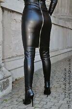 Lederrock Zipper hinten  34 36 38 40 42 44 46 48 50 52  hochw.PU Leder (mod.h7)