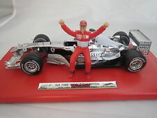 FERRARI F1 MICHAEL SCHUMACHER CHROME 1/18