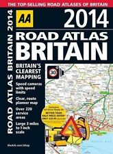 AA Road Atlas Britain: 2014 by AA Publishing (Spiral bound, 2014)