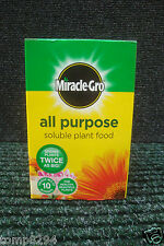 SCOTTS MIRACLE GRO ALL PURPOSE SOLUBLE PLANT FOOD 500 GRAM