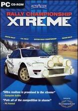 Rally Championship Xtreme w/ Manual PC CD drive off-road extreme car racing game