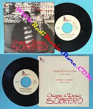 LP 45 7'' CHIARA E DARIO SOBRERO Stornellata in sce l'onda Vivemmo no cd mc dvd